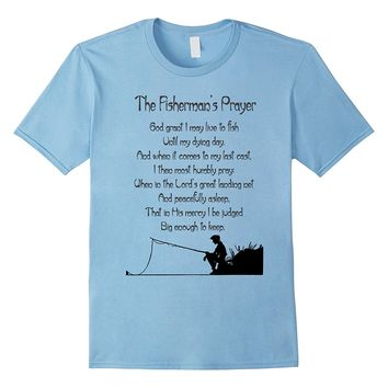 Fishermans Prayer Fishing t-shirt