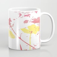 Field of Flowers Mug by ALLY COXON | Society6