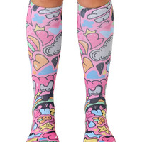 Laugh and Love Knee High Socks