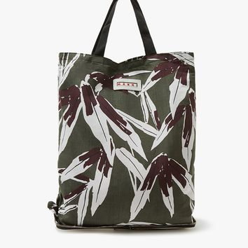 Marni / Shopping Bag in Dark Olive