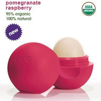 Eos Evolution of Smooth - Lip Balm Sphere Pomegranate Raspberry: Health & Personal Care