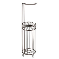 InterDesign Twigz Toilet Tissue Roll Stand Plus, Bronze