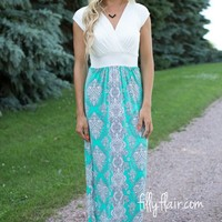 Oh My Goddess Maxi in Mint