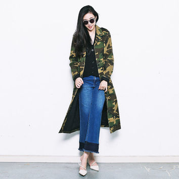 long jacket,military jacket,army jacket,womens jacket,oversized,double breasted,unique,grunge,fashion,unique,for autumn and winter.--E0500