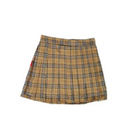 Plaid Mini Skirts