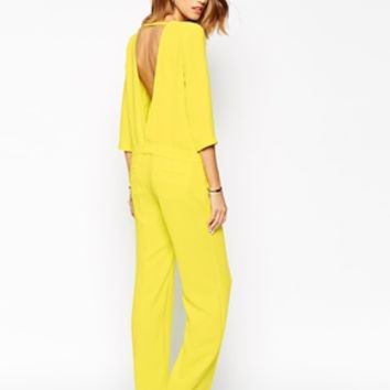 BA&SH Julia Jumpsuit with Low Back