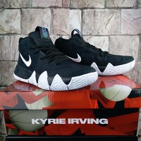 Nike Kyrie 4 Black/White Basketball Sneaker