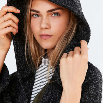 BDG Alessi Relaxed Boucle Coat - Urban Outfitters