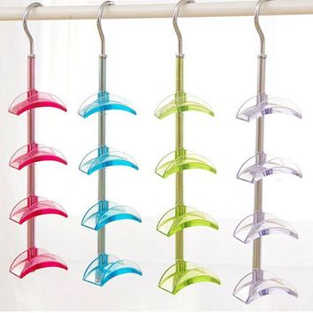 Rotatable Durable Bag Belt Tie Storage Rack Hanger Holder