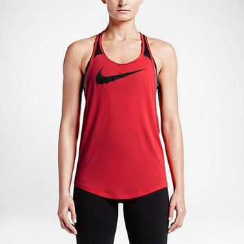 Nike Women's Running Tank Tops (Back Breathable Mesh)