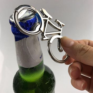 Zinc Alloy Bicycle Bottle Opener