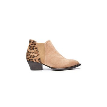 Leopard Print Booties - Chinese Laundry