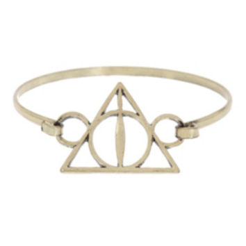 Harry Potter Deathly Hallows Bangle Bracelet