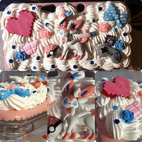 Custom Decoden Cases Iphone 3DS 3DS XL by SpicyNerd on Etsy