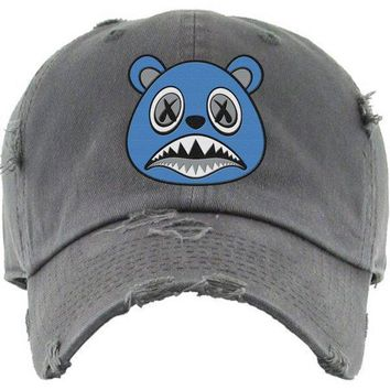 UNC BAWS Charcoal Dad Hat