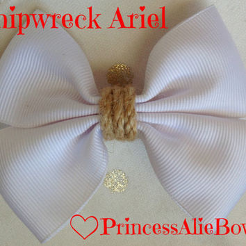 The Little Mermaid's Shipwreck Ariel Bow