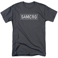 SONS OF ANARCHY/SAMCRO-S/S ADULT 18/1-CHARCOAL