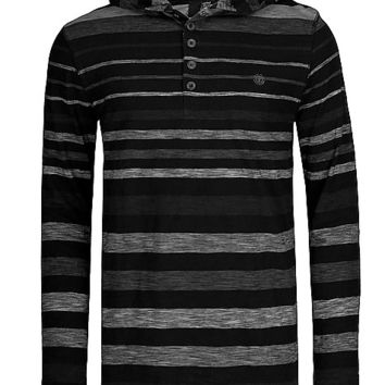 Element Clermont Hooded Henley Shirt