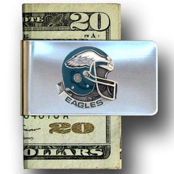Philadelphia Eagles Steel Money Clip FMC065