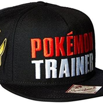 BIOWORLD Pokemon Trainer Color Omni Snapback Baseball Cap