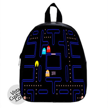 Pac man track Games New Hot School Bag Backpack