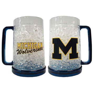 Ncaa 16Oz Crystal Freezer Mug - University of Michigan