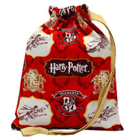 NEW Knitting Project Bag | Drawstring Bag | Harry Potter Bag | Project Bag | Sock Bag | Knitting Storage