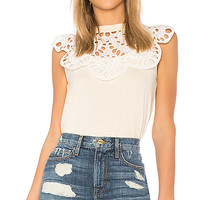 See By Chloe Statement Top in Buttercream | REVOLVE