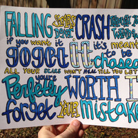 Forever Unstoppable Lyric Drawing