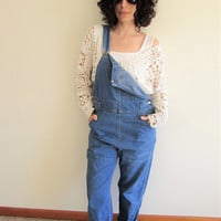 Vintage Lee Distressed/ Painter/ Workwear/ Hipster Denim Overalls