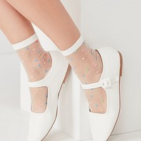 Leather Mary Jane Flat | Urban Outfitters
