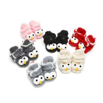 Winter Baby Cartoon Unisex Shoes