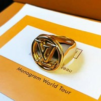 LV high-end men's ring