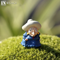 Anime movie Hayao Miyazaki Spirited Away Witch micro fairy garden miniatures decoration figurine action figures dolls DIY props Alternative Measures