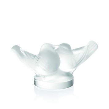 Crystal Doves Figurine - Lalique