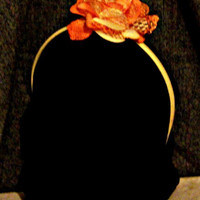 Orange Flower Headband Hair Accessories Flower Woman Direct Checkout