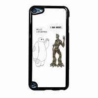 Hello I Baymax I Groot iPod Touch 5th Generation Case