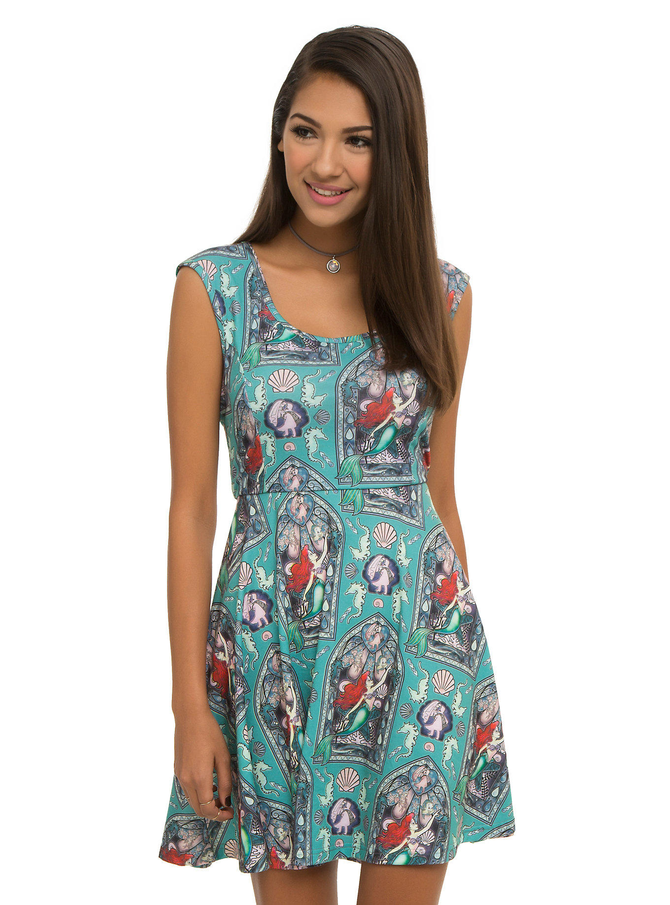 Disney The Little Mermaid Ariel Stained from Hot Topic