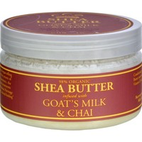 Nubian Heritage Shea Butter Infused with Goat's Milk and Chai - 4 oz