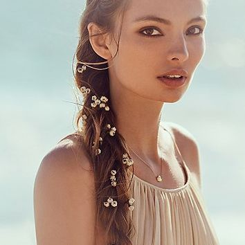 Free People Womens Babys Breath Braid