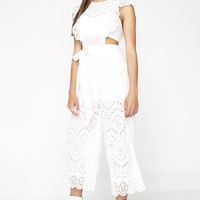 Pure Angel Lace Jumpsuit