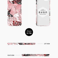 iPhone case - 'Born to be Wild' - iPhone 5s case, iPhone 6s case, iPhone 6 Plus case, iPhone SE, iPhone 7, non-glossy hard shell C21