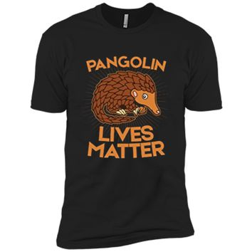 Pangolin T-Shirt: Pangolins Lives Matter Save The Pangolins Next Level Premium Short Sleeve Tee