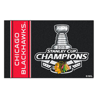 Chicago Blackhawks 2015 NHL Stanley Cup Champions Starter Floor Mat (20x30)