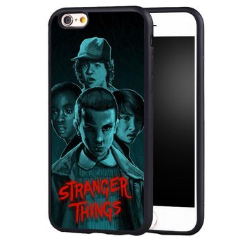 Cute Stranger Things phone case cover for Samsung Galaxy s4 s5 s6 S7 edge S8 plus note 2 3 4 5