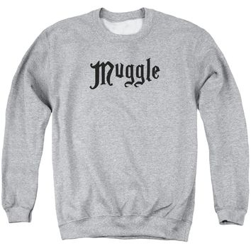 Harry Potter - Muggle Adult Crewneck Sweatshirt Officially Licensed Apparel