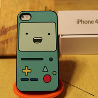 Beemo / Adventure Time / Jake / Gunter / Cartoon Apple Iphone 4 / 4s Case