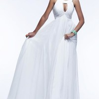 2015 Beautiful Long White Tailor Made Evening Prom Dress (LFNBF0002) cheap online-MarieProm UK