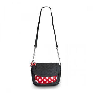 Loungefly – Minnie Polka Dot Crossbody Bag In Black/Red/White Dot | Thirteen Vintage
