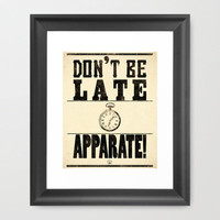 Apparate! Framed Art Print by Zach Terrell | Society6